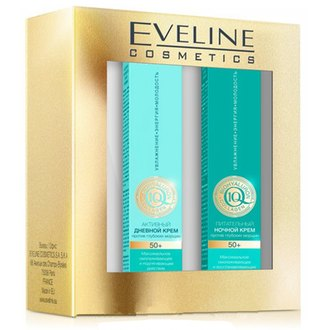 Фото Набор для лица Eveline Cosmetics Bio Hyaluron + Q10 + Collagen 50+