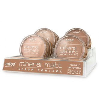 Фото Пудра для лица Ados Mineral Matt Pressed Powder