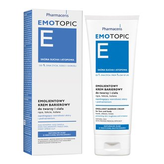 Фото Эмолентный защитный крем для лица и тела Pharmaceris Emotopic Emollient Barrier Cream