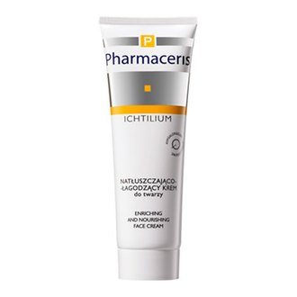 Фото Интенсивный жирный крем Pharmaceris P Ichtilium Enriching and Nourishing Face Cream