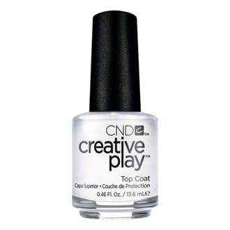 Фото Верхнее покрытие для лака CND Creative Play Top Coat