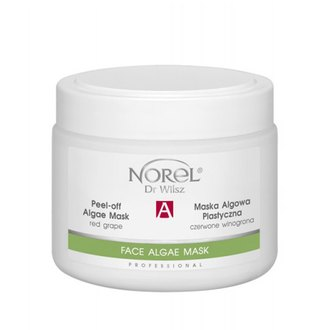 Фото Восстанавливающая альгинатная маска для зрелой кожи Norel Peel-off Algae Mask with Red Grapes