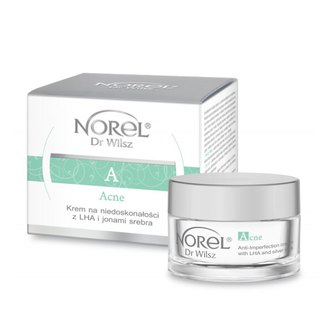 Фото Крем с LHA кислотами и ионами серебра Norel Acne Anti-imperfection Cream with LHA and Silver Ions