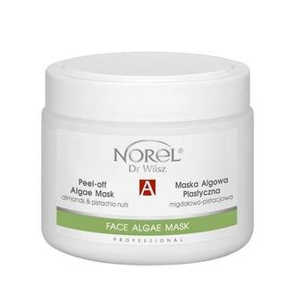 Фото Альгинатная маска с миндалем и фисташками Norel Peel-off Algae Mask With Almdonds & Pistachio Nuts
