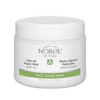 Фото Альгинатная маска с зеленым чаем для всех типов кожи Norel Peel-off Algae Green Tea Mask