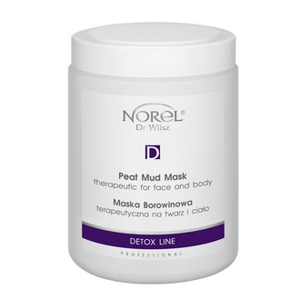 Фото Терапевтическая грязевая маска для лица и тела Norel Therapeutic Peat Mud Mask for Face and Body