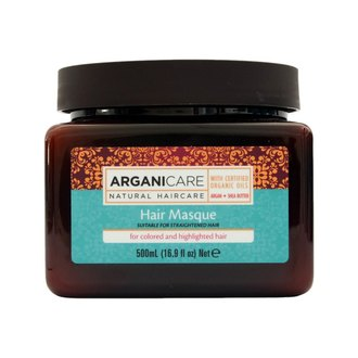 Фото Маска для окрашенных волос ArganiCare Argan Oil Hair Masque for Colored /Highlighted Hair