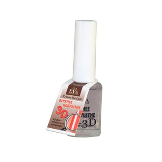 Фото Верхнее покрытие с 3D эффектом Eva Cosmetics 3D Lens Top Coat
