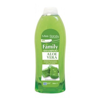 Фото Шампунь с Алоэ вера Miss Sandy Family Aloe Vera Shampoo