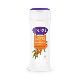 Фото Крем-гель для душа с экстрактом облепихи Duru Nature's Treasures Shower Gel Sea Buckthorn