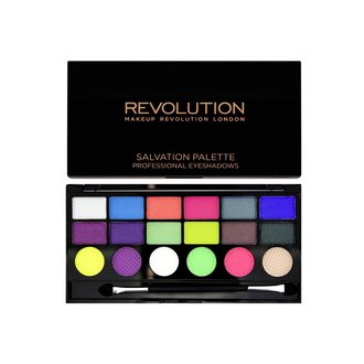 Фото Палетка теней для век Makeup Revolution Salvation Pallete Professional Eyeshadows Colour Chaos