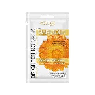 Фото Осветляющая маска с экстрактом календулы Vollare Cosmetics Brightening Mask Marigold Extract