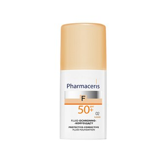 Фото Защитный тональный флюид SPF 50+ Pharmaceris F Protective-Corrective Fluid Foundation