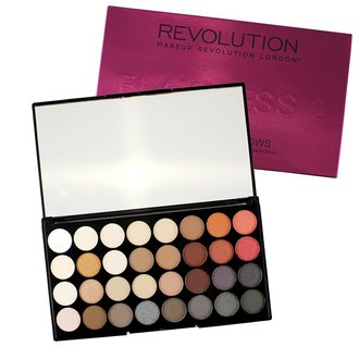 Фото Палитра теней для век Makeup Revolution Ultra Shade Eyeshadow Palette Flawless 2