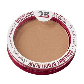 Фото Пудра для лица 2В Bronzing Mineral Powder Brilliant Beach Glow