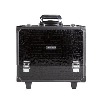 Фото Косметический кейс Inglot Makeup Case Crocodile Leather Pattern with Wheels Large KC-PL15