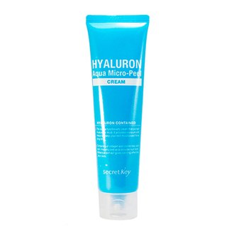 Фото Крем-микропилинг с гиалуроновой кислотой Secret Key Hyaluron Aqua Micro-Peel Cream