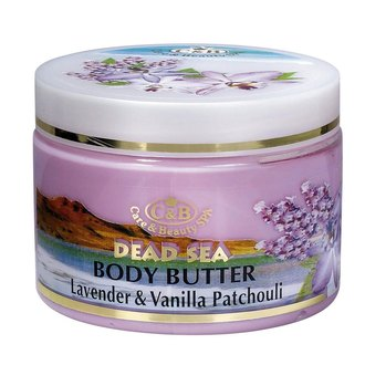 Фото Сливки для тела Лаванда и пачули Care & Beauty Line Body Butter Lavender and Vanilla Patchouli