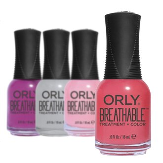 Фото Лак для ногтей Orly Nail Breathable Treatment + Color