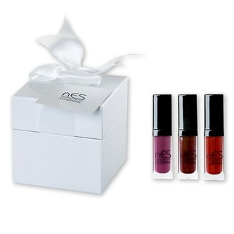 Фото Подарочный набор nES Holiday 2017 Vinyl Lip Lacquer Mini Set Wine Tasting