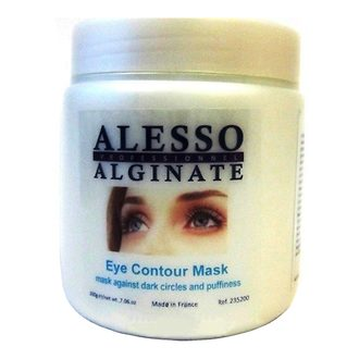 Фото Маска альгинатная для контура глаз Alesso Professionnel Eye Contour Alginate Mask