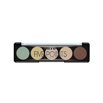 Фото Палетка корректоров для лица Miyo Five Points Palette Perfect Sellfie Palette