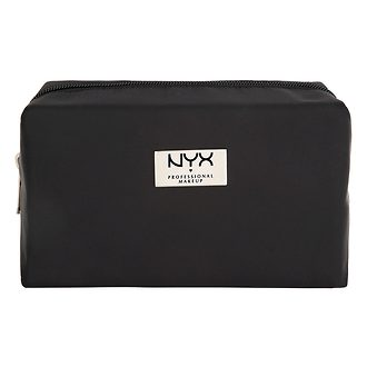 Фото Косметичка NYX Professional Makeup Black Medium Rectangular Zipper Makeup Bag