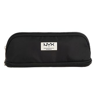 Фото Косметичка NYX Professional Makeup Black Small Double Zipper Makeup Bag