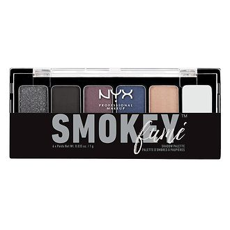 Фото Палитра теней NYX Professional Makeup The Smokey Shadow Palette