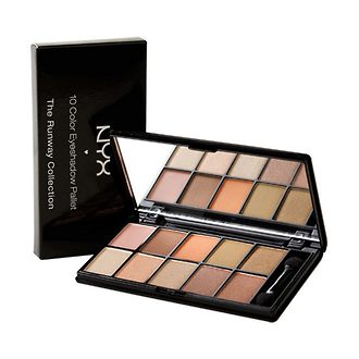 Фото Палетка теней NYX Professional Makeup 10 Color Eyeshadow Palette The Runway Colletion