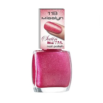 Фото Лак для ногтей Misslyn Satin Metal Nail Polish