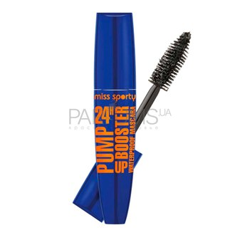 Фото Тушь для ресниц Miss Sporty Pump Up Booster 24H Waterproof Mascara