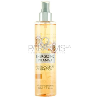 Фото Benetton Body Mist Collection Energizing Pitanga