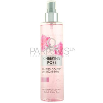 Фото Benetton Body Mist Collection Cheering Rose