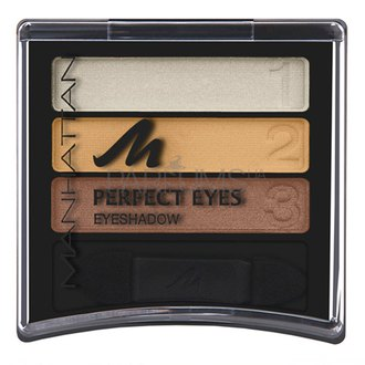 Фото Тени для век Manhattan Eyeshadow Trio Perfect Eyes