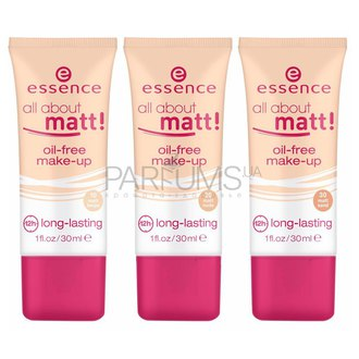 Фото Тональная основа Essence All About Matt Oil-Free Make-Up