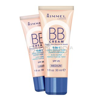 Фото BB-крем Rimmel BB Cream 9in1 Skin Perfecting Super Makeup SPF25