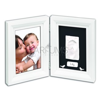 Фото Рамочка для фотографий с отпечатком Baby Art Print Frame White And Black